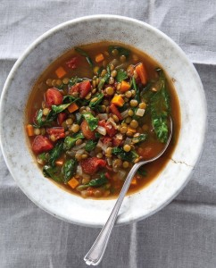 Recipe For Winter Lentil Vegetable Soup