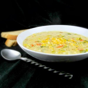 Cheesy Vegetable Soup I Recipe