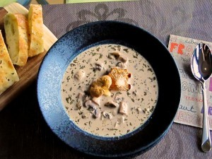 How To Make Cream of Mushroom Soup II