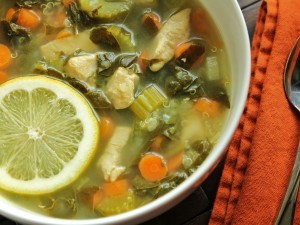 Lemon Chicken Soup II Recipe