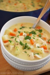 Easy Cheesy Vegetable Soup Recipe