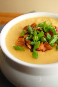 Image courtesy: Nikki's Creamy Crock Pot Potato Soup Recipe
