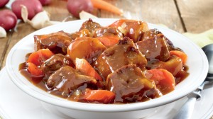 Spicy Chunks of Stewed Beef Soup