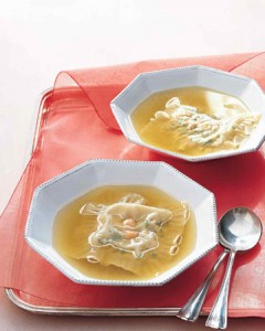 Image courtesy: Chicken Soup with Stuffed Noodles