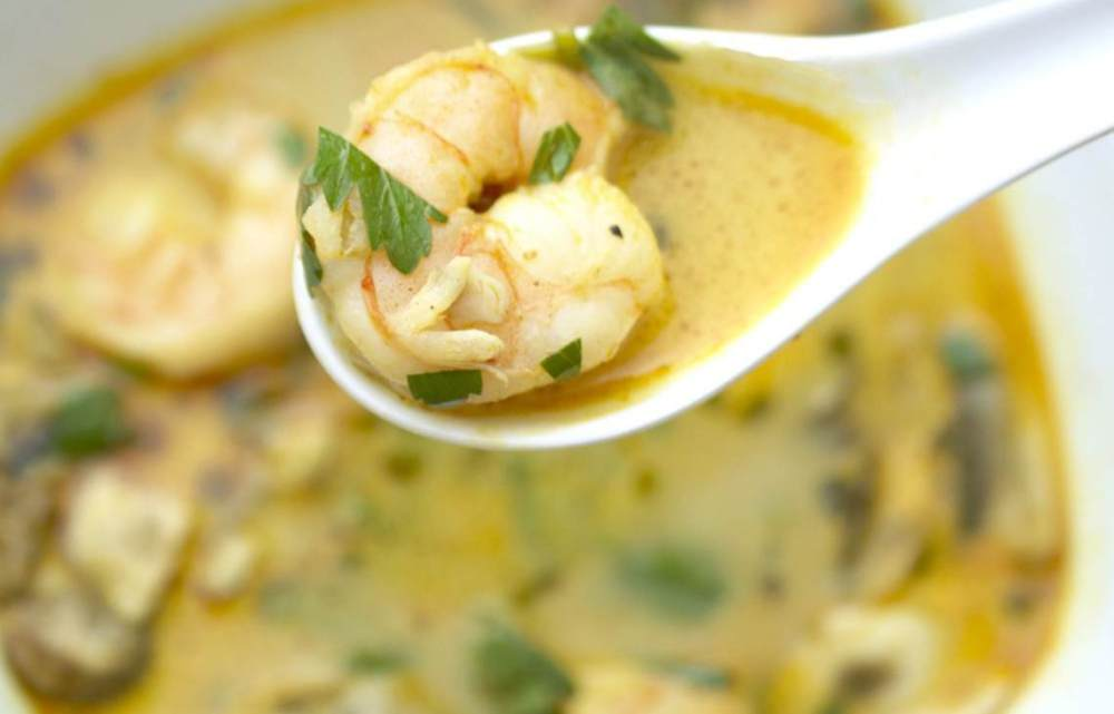 The Best Thai Coconut Soup Recipe : Glorious Soup Recipes