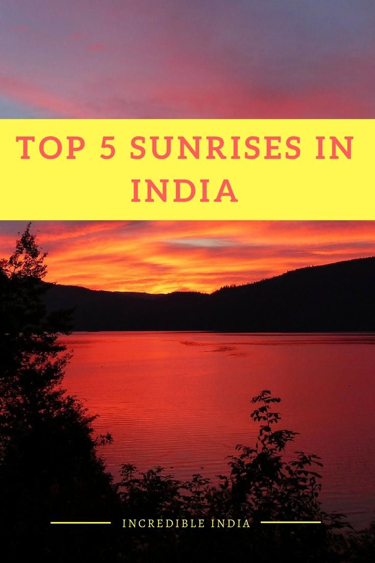 Glorious sunrises in India