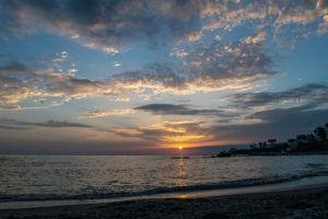 Glorious Sunrise on the Kiama to Minnamura coastal walk