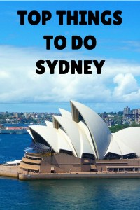 Top things to do in Sydney