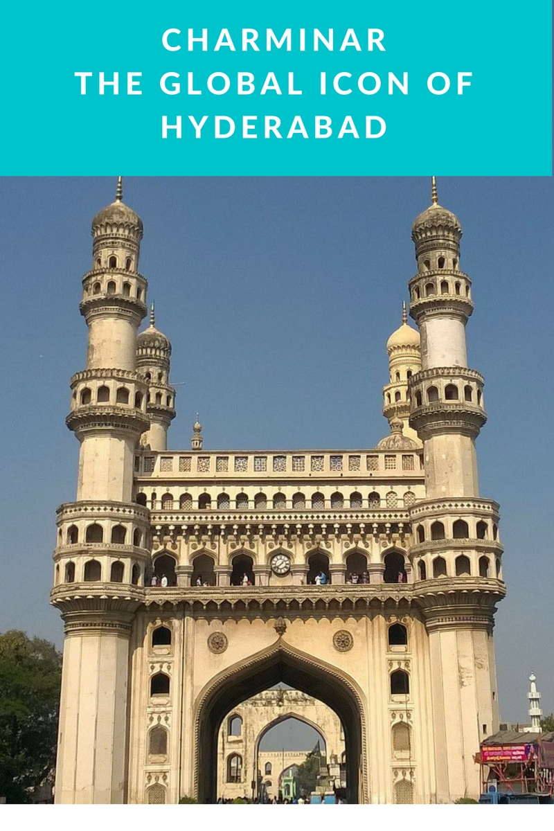 Charminar is a global icon of Hyderabad, capital of Telangana state in India. It is an architectural marvel.
