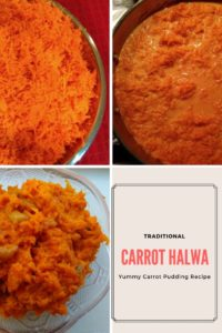Carrot Halwa aka Carrot Pudding is a sneaky way to add carrots to your diet. This is a delicious dessert that you cannot turn down. Check out this traditional method of cooking Carrot Halwa.