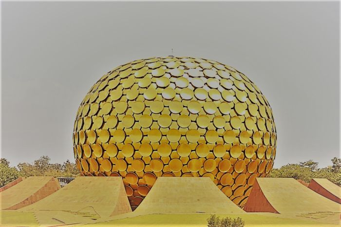 Auroville near Puducherry/top place in India to visit