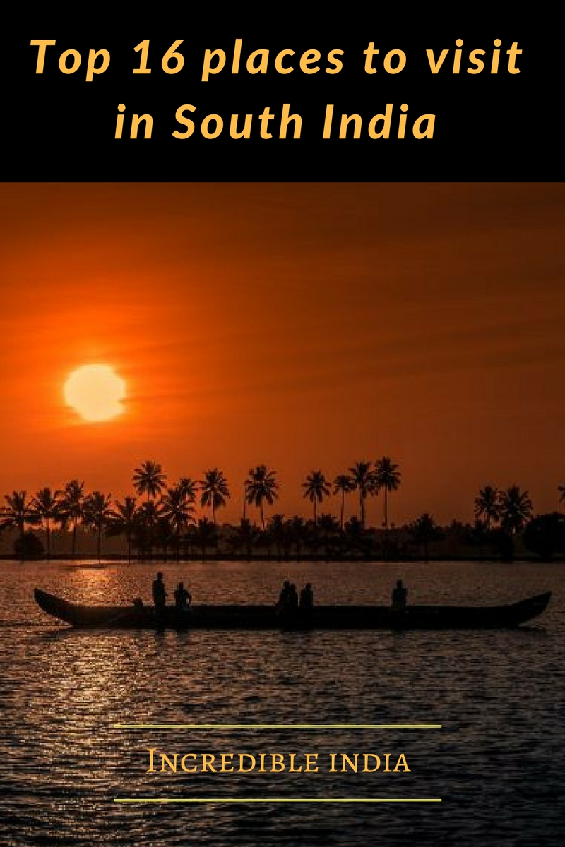 16 Best places to visit in South India