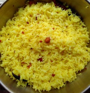 Lemon rice recipe: Super quick, tasty and healthy one pot lunch idea for your crazy busy days!