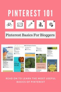 Pinterest basics for bloggers. Read on to learn how to use Pinterest effectively to drive tons of traffic to your website.