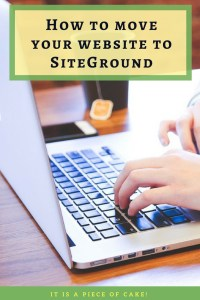 How to move to Siteground hosting