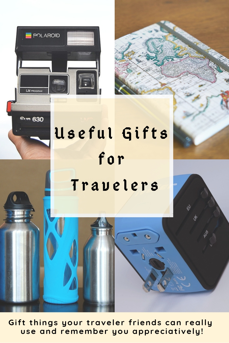 Useful gifts for your friends who love traveling. These gift ideas are super practical and would definitely be used appreciatively.