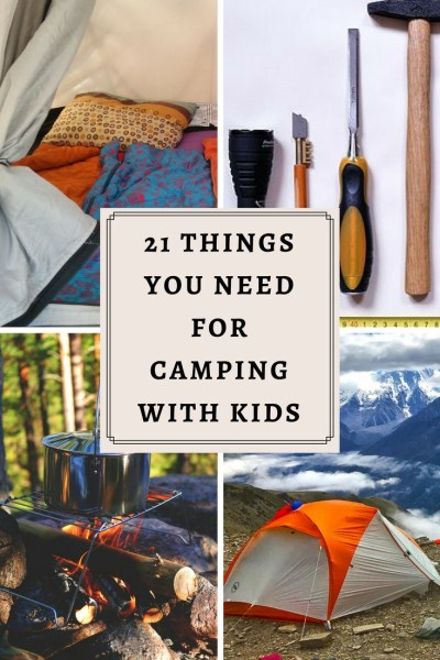 Camping gear you carry on your camping trip make or break your experience. Carry the right essentials and you are guaranteed a superb trip. Here is the list of all you need for camping with kids!