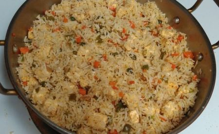 panneer fried rice c