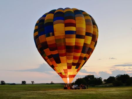 Best places to enjoy hot-air balloon rides in South Africa Gauteng
