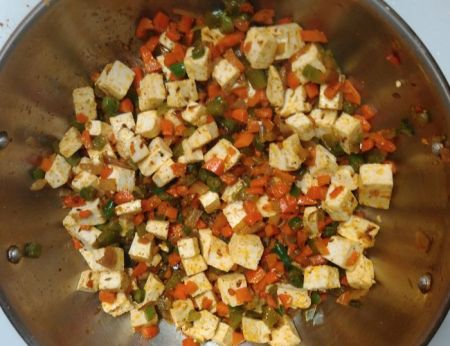 paneer fried rice recipe ingredients