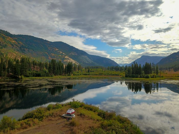 US free camping sites Washington