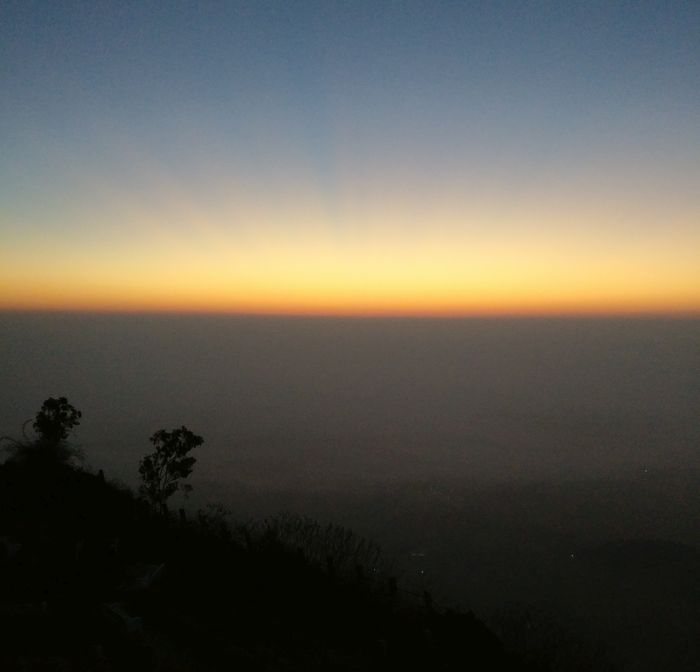 nandi hills sunrise
