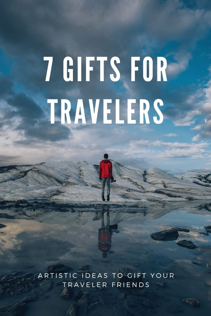 Artistic gifts for your traveler friends.