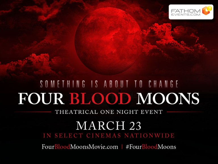 Four Blood Moons Movie Takes Center Stage in One-Night Theatrical Event