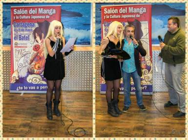 "1er premio de Karaoke en el 2013 con el tema de ""DNA2- Blurry Eyes"" / This award was first Karaoke in 2013 with theme ""DNA2-Blurry Eyes."""