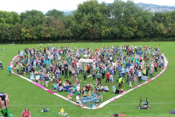 People's Climate March, Stroud, September 2014