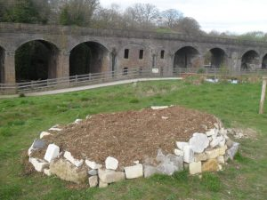 The Climate cairn at Capels Mill