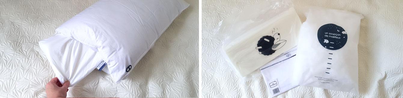 oreillers a memoire de forme