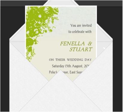 Glosite Wedding Invitation Wording