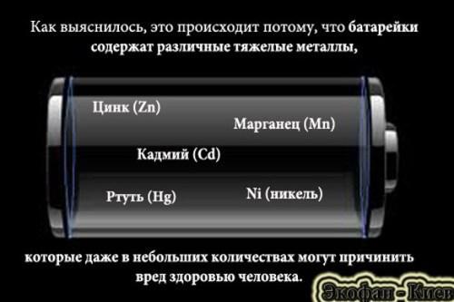 Как в Киеве утилизировать батарейки
