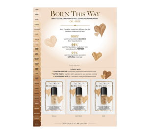 Too Faced Born This Way Foundation Sample - Glossense