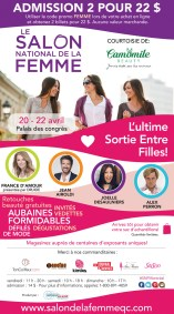 Montreal Ontario Canada National Women's Show April 2018 Coupon Code Promo Code Save on Tickets - Glossense