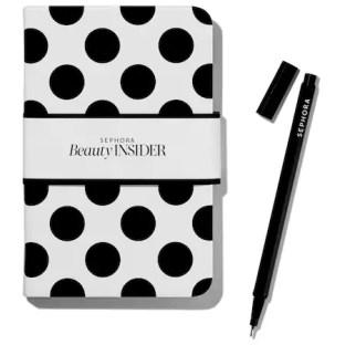 Sephora Beauty Insider Notebook and Pen - Glossense