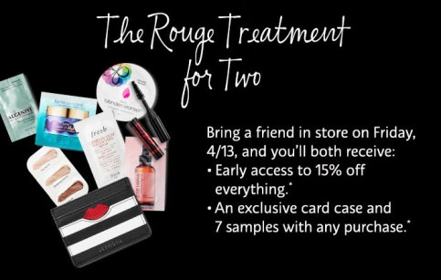 Sephora Canada VIB Rouge Beauty Insider Event - April 2018 Spring Bonus Sale Free Gift Bag - Glossense