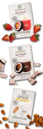 The Body Shop Canada 3 Free Body Yogurt Samples - Glossense