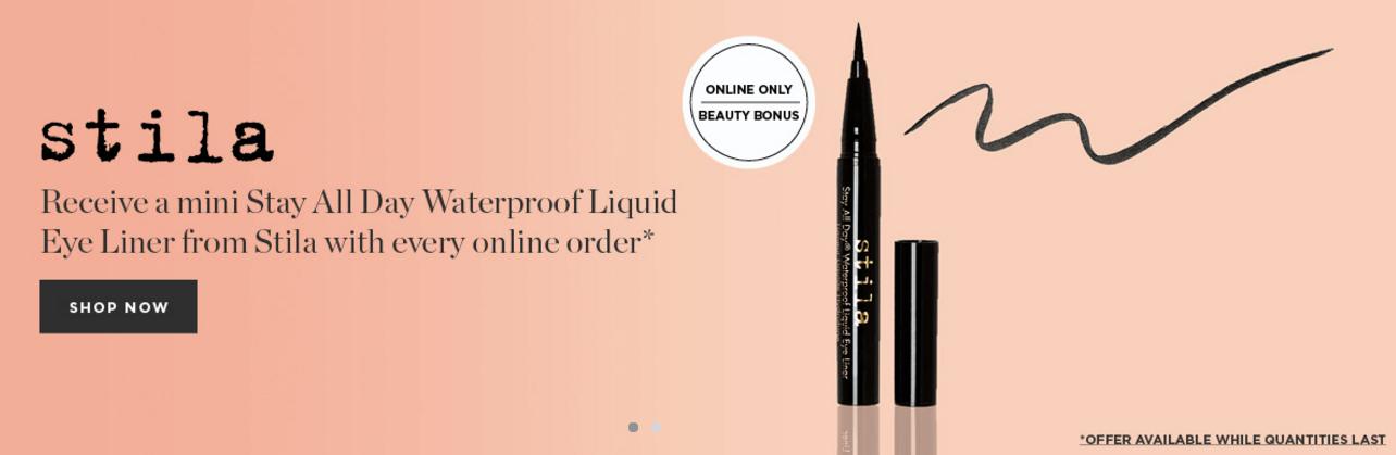 Free Liquid Eyeliner Samples