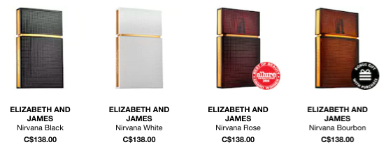 Elizabeth and James Canada Perfume Fragrance - Glossense