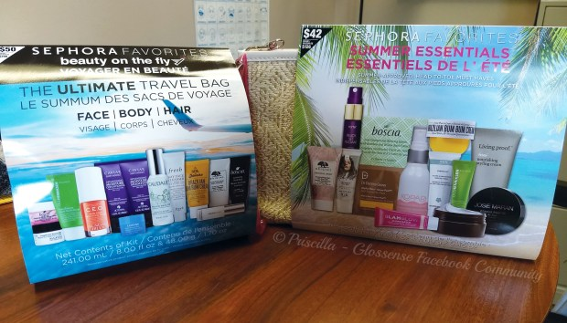 Sephora Canada Favourites Set Beauty on the Fly Summer Essentials - Glossense