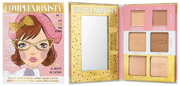 Benefit Cosmetics Complexionista Face Palette Canadian Sale and Canadian Deal - Glossense