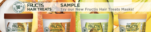 Canadian Freebies Free Garnier Fructis Hair Treats Mask Sample Canada - Glossense