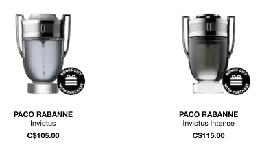 Paco Rabanne Invictus Intense Cologne Fragrance for Men - Glossense