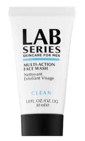 Sephora Canada Free LAB Series for Men Face Wash Trial Sample - Glossense