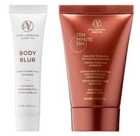 Sephora Canada Free Vita Liberata Deluxe Sample Hghlight Tan Body Glow - Glossense