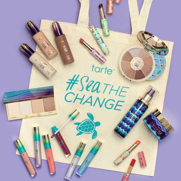 Sephora Canada Tarte Cosmetics Canada Sea the Change Seathechange 2018 World Oceans Day Tote Bag Canadian Deal - Glossense