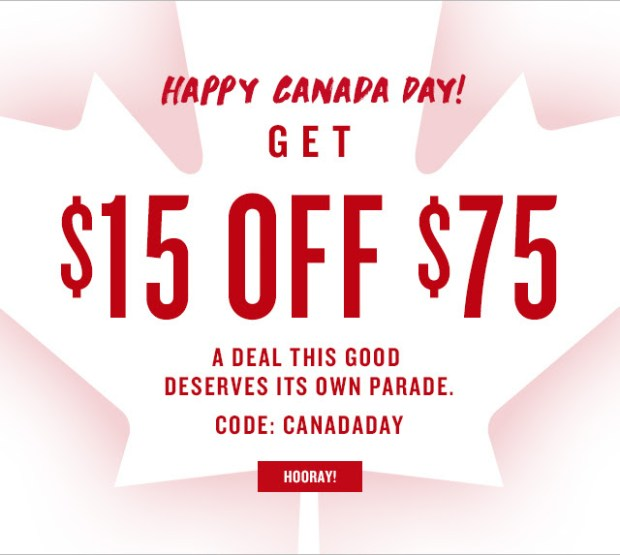 Smashbox Canada Day 2018 Sale Canadian Discount Coupon Code - Glossense