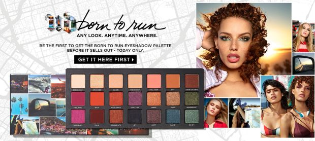 Urban Decay Canada Born to Run Palette Get it First - Glossense